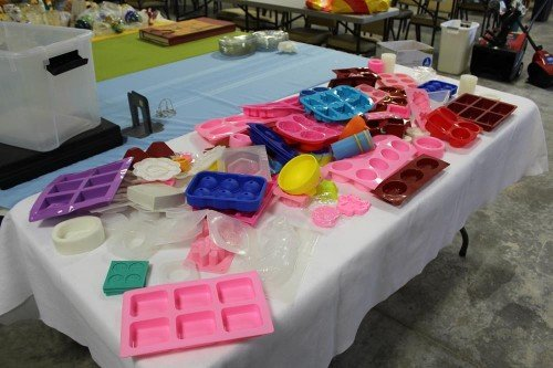 Dozens of Freshware Silicone Molds at Value Auctions Barn Storage Auction Estate Vintage Collectibles Antiques