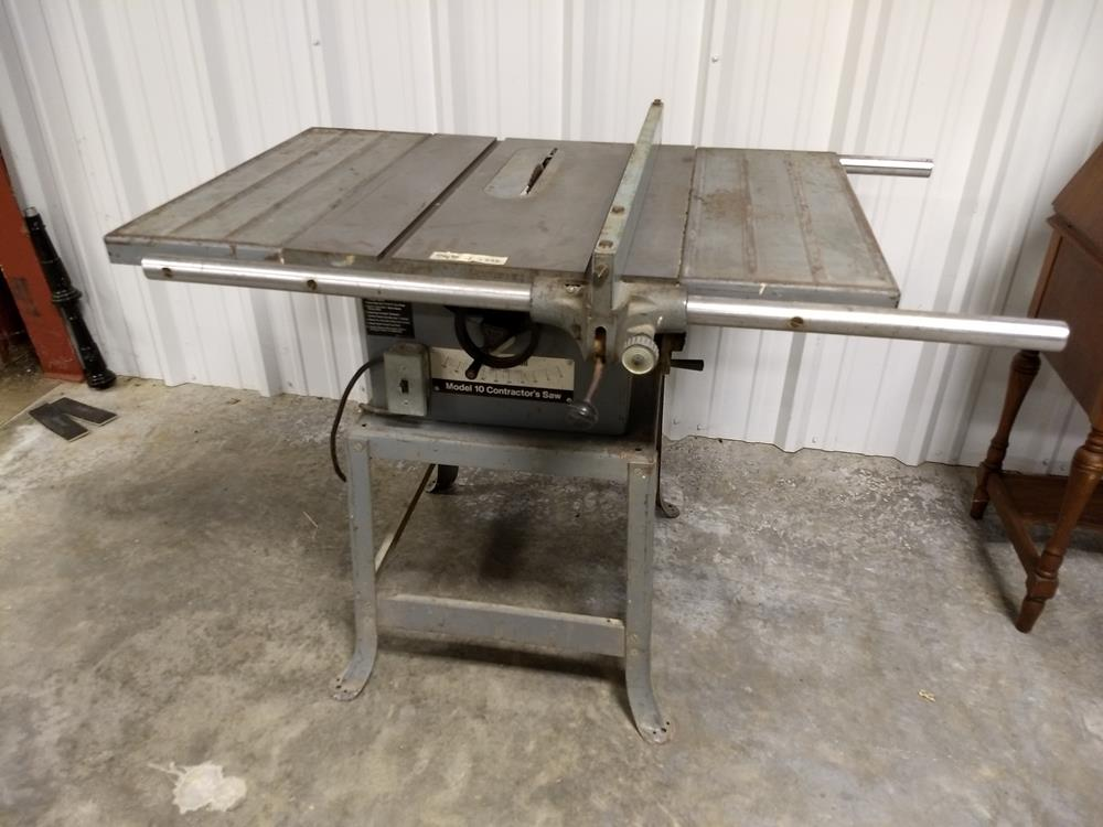 Sold Rockwell Model 10 Contractor S Table Saw Value