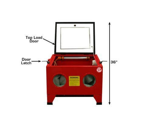JobSmart Table Top Sandblasting Cabinet SBC90 | Value Auction Barn